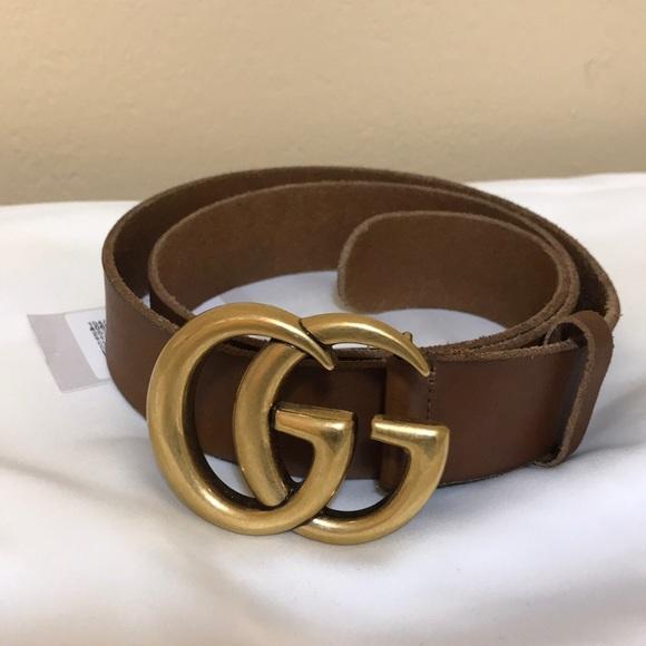 a91861dc80320d GG Marmont Belt (Toscano